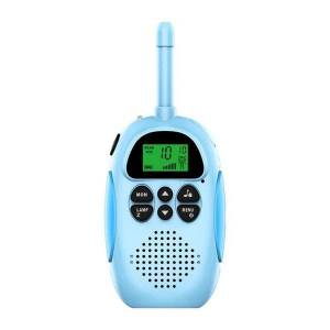 DHgate walkie talkie 2pcs parent-child interactive hand-held toy walkie-talkie 3km range outdoor sports cycling remote communication