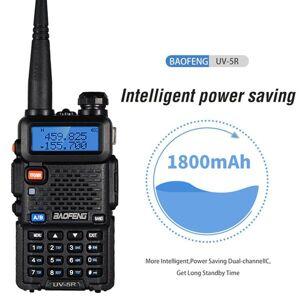 DHgate walkie talkie baofeng uv 5r 10km real 8w two-way radio uv-5r portable ham uv5r walkie-talkie fm transceiver amateur