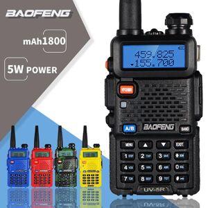 DHgate walkie talkie baofeng uv-5r uv 5r portable cb ham radio 5w dual band transceiver vhf uhf two way 10km hunting uv5r