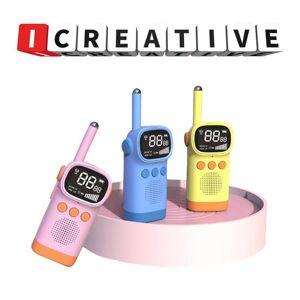 DHgate walkie talkie 2pcs/set children's kids electronic gadgets handheld transceiver 3km range uhf radio interphone toys for boys
