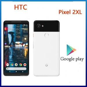 DHgate walkie talkie original google htc pixel 2xl ram 4gb rom 64gb inch 6.0 android 8.0 octa core 98 mobile phone
