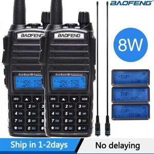 DHgate baofeng uv-82 plus 8w walkie talkie uv82 cb radio station 10km vhf uhf dual band uv 82 two way ham11