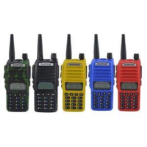 DHgate walkie talkie radio accessories headset for microphone in-ear 5km bao feng bf-uv82 walkie-talkie