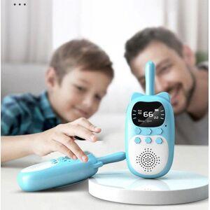 DHgate walkie talkie kids children's radio parent-child educational interactive 3km range handheld transceiver gift toys for girls 1pc