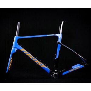DHgate 2019 new thrust t800 carbon road bike frame cycling bicycle frameset super light 980g di2/mechanical racing