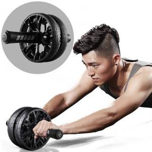 DHgate fitness equipment abdominal wheel workout ab roller home gym gimnasio en casa body building exercise equipment attrezzi palestra