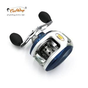 DHgate fishing reel af105l 8+1bb ball bearings left hand low profile baitcasting carp high speed pesca 6.3:1 fly fishing reels