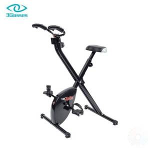 DHgate 3glasses virzoom virtual reality exercise bike and games spinning bike fitness sports game console bicycle