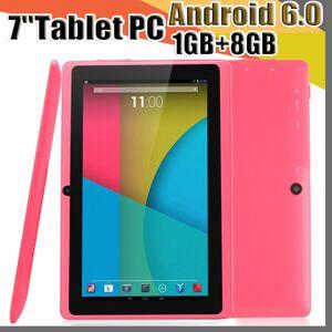 DHgate 168 7 inch q88 tablets quad core allwinner a33 1.2ghz android 6.0 1gb ram 8gb rom bluetooth wifi otg tablet pc a-7pb