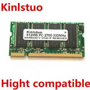 DHgate 512mb pc2700 pc2700s ddr pc 2700 333mhz cl2.5 ram lapmemory 512 mb