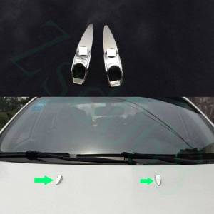 DHgate for cadillac srx 2010-2016 car silvery front cover left right side wiper nozzle cover decorative trim