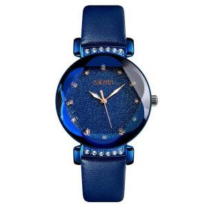 DHgate wristwatches waterproof round dial simple watch women starry sky series business casual ladies quartz ll@17