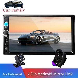 "DHgate 2 din car parking radio 7"" hd autoradio multimedia player 2din touch screen auto audio stereo mp5 bluetooth usb tf fm camera speakers"