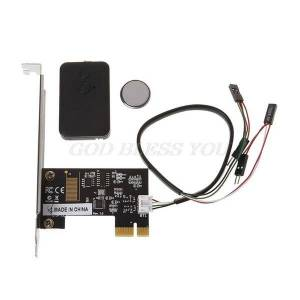 DHgate pci-e deskpc remote controller 20m wireless restart switch turn on off drop shipping