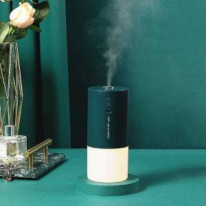 DHgate humidifiers 300ml wireless humidifier aromatherapy diffuser 1200mah battery mini essential oil aroma car rechargeable