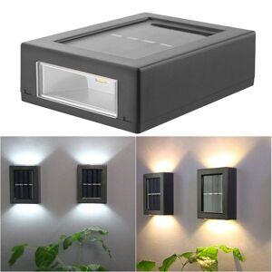 DHgate 2pcs/set led wall light square led wall lamp outdoor waterproof ip65 porch bedside room bedroom wall utdoor garden decor arts