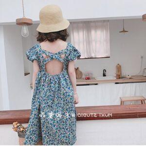 DHgate girls summer dress for kids clothes girls backless princess dresses children evening party dress roupa infantil menina