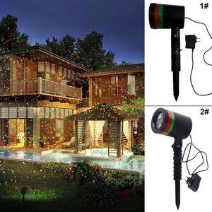 DHgate effects aimbinet outdoor laser projector sky star spotlight showers landscape dj disco lights r&g garden lawn christmas party