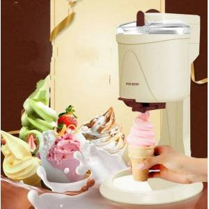 DHgate 1000ml mini ice cream tools fruit soft serve machine for home electric diy kitchen maker fully automatic kid