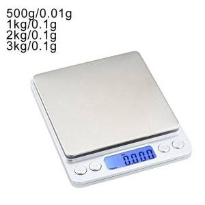 DHgate 0.01/0.1g precision lcd digital scales 500g/1/2/3kg mini electronic grams weight balance scale for tea baking weighing scale