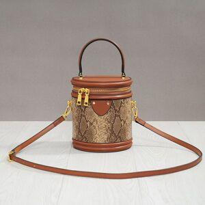 DHgate 70% off luxury handbag leather women's bucket handbag cylinder one shoulder messenger bag small 2021 new r5c8 u4z2 hjor