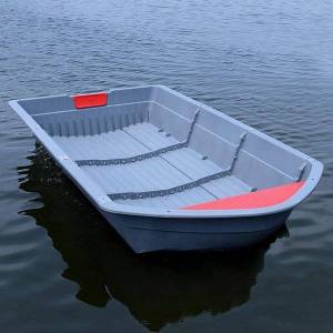 DHgate 1.6/2.3/3.0/3.7/4.4m ppr portable boat foldable car-mounted combination ship folding plastic fishing rafts/inflatable boats