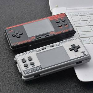 DHgate portable game players classic handheld console fc3000 v2 2g rom built-in children's games m3 retro simulator 10 4000 r9y2