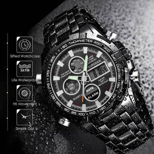 DHgate wristwatches men's watches analog digital dual display male clock waterproof military sport relogio masculino amst watch men