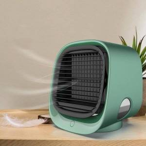 DHgate electric fans 300ml air cooler fan mini portable usb conditioner water tanks personal space deskcooling for home office