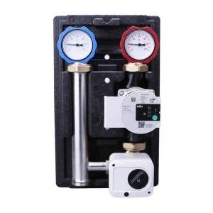 DHgate smart home control geothermal water mixing center intelligent energy-saving water-saving mixed floor heating pump system