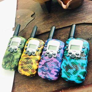 DHgate walkie talkie children toy intercom children's radio walkie-talkie kids birthday gift toys for boys girls interphone range 5-6km