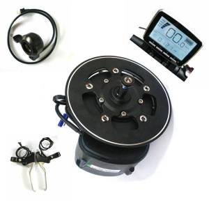 DHgate 68/100/120mm bb length tongsheng tsdz2 diy ebike kit mid drive motor,torque sensor 36v/48v/52v ebike motor with thumb throttle & brake level