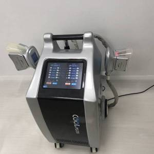 DHgate etg50- 4sp kryolipolyse apparatus with ce zertifikat cryo technologie for body shaping with 4 handles and two handles can work simultanousl