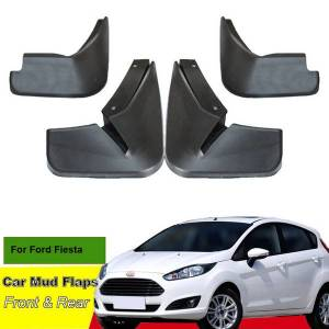 DHgate tommia for ford fiesta 2009-19 car mud flaps splash guard mudguard mudflaps 4pcs abs front & rear fender