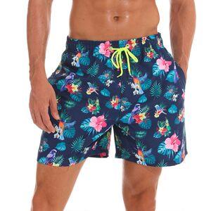 DHgate mens beach shorts loose quick dry bermudas surf swimwear swim shorts summer fashion print beach boardshorts swimming trunks m-xxxl