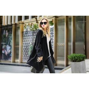 DHgate patchwork trench coats v neck long sleeve outerwear casual versatile long regular coats womens cardigan designer