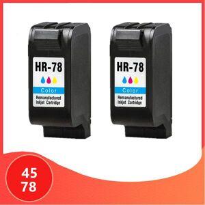 DHgate 2pack compatible for 45 for 78 ink cartridges 45 78 deskjet 1220c 3820 3822 6122 6127 930c 932c 940c printers