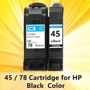 DHgate 45 ink cartridge for 45 78 cartridge 78 for deskjet 1220c 3820 3822 6122 6127 930c 932c 940c 950c printers