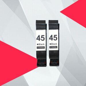DHgate 2black compatible ink cartridges for 45 78 deskjet 1220c 3820 3822 6122 6127 930c 932c 940c 950c printers for 45 78