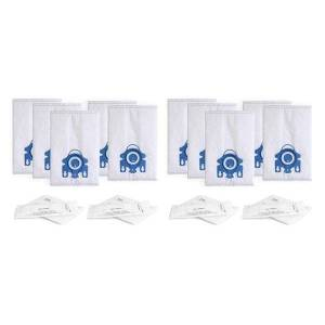 DHgate vacuum cleaners 1set replacement gn 3d dust bag for miele canister s2, s5, s8, classic c1, complete c2 and c3 cleaner