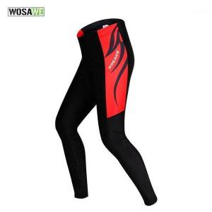 DHgate wosawe men cycling pants bicycle tights sportswear women bike riding cycling clothing padded tight pants trousers ciclismo bici1