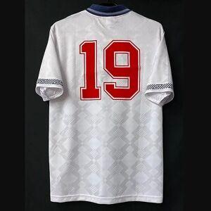 DHgate retro england soccer jerseys beckham shearer scholes owen gascoigne gerrard lampard fowler vintage classic shirt kit
