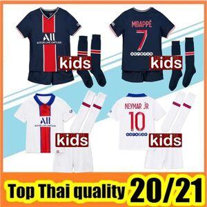 DHgate kids maillots de football kits 2020 2021 paris soccer jersey 20 21 mbappe icardi shirt kids set maillot de foot enfants