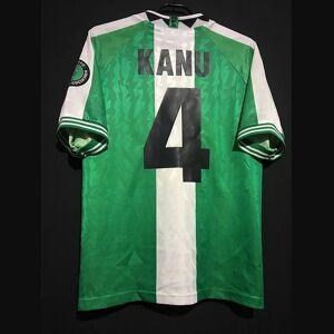 DHgate retro 1996 okocha kanu yekini west babangida amokachi home away soccer jerseys vintage kit classic shirt