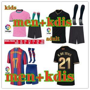 DHgate 20 21 men and kids soccer jersey kits maillots de foot 2020 2021 children camiseta de fútbol maillot de foot football shirt