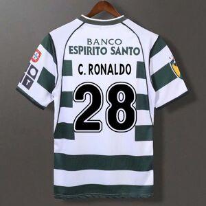 DHgate retro sporting cp 2002/04 soccer jerseys ronaldo jardel vintage football lisbon classic shirt lisboa kit