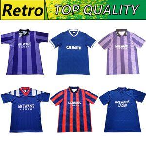 DHgate vintage 02 84 87 92 93 94 95 96 90 97 99 glasgow rangers retro soccer jerseys soccer shirts football kits uniforms top