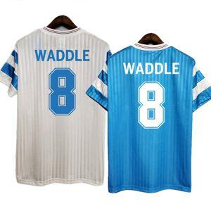 DHgate retro om 1990/91 papin cantona waddle marseille soccer jerseys vintage kit classic shirt