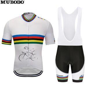 DHgate 2020mubodo cycling jersey della bici breve vestito ropa ciclismo mens di estate quick dry pro maillot bicicletta pantaloni