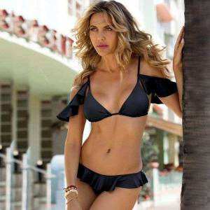 DHgate women's swimwear plus size bikini women set halter woman swimsuit swimming suit low waist female two piece xl g7wh